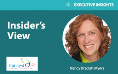 Executive Insights. Insider's view. Nancy Bradish Myers