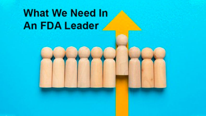 What We Need in an FDA Leader